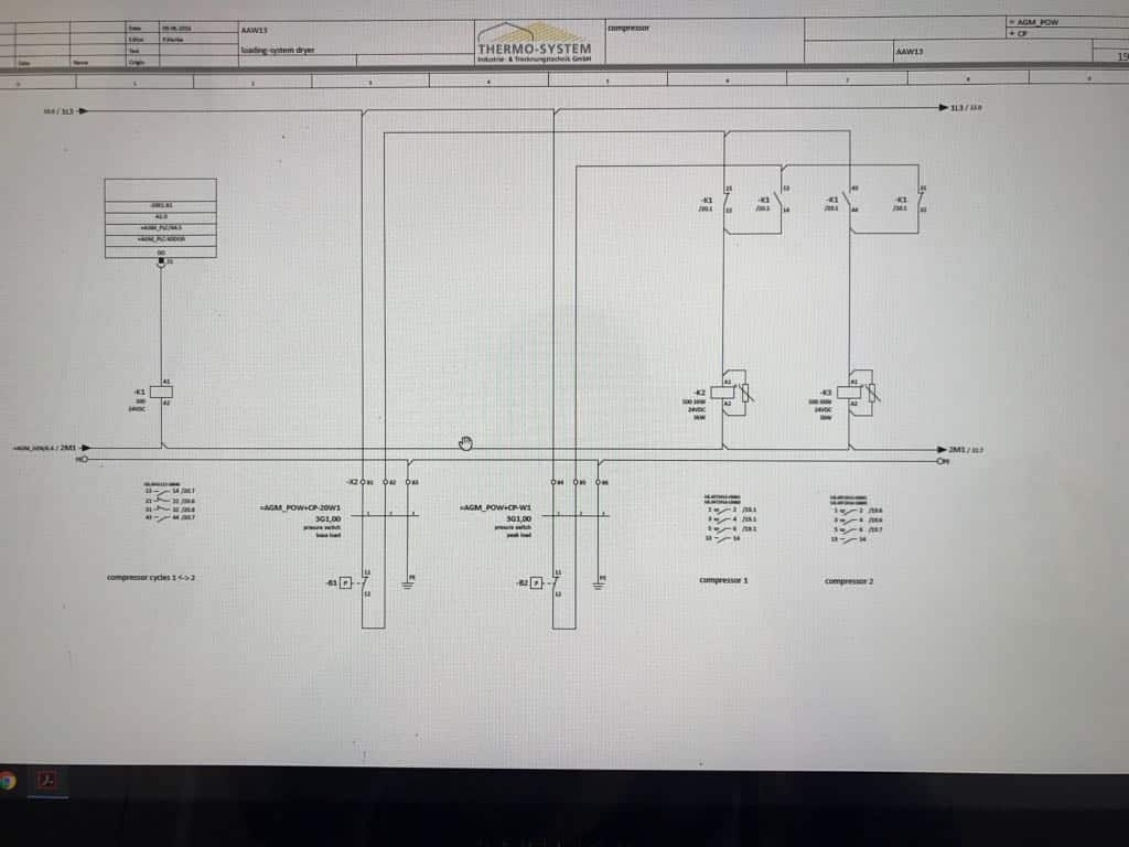Wiring A Compressor Pressure Switch Diagram Of The For You Attached With Motor I Dont Understand