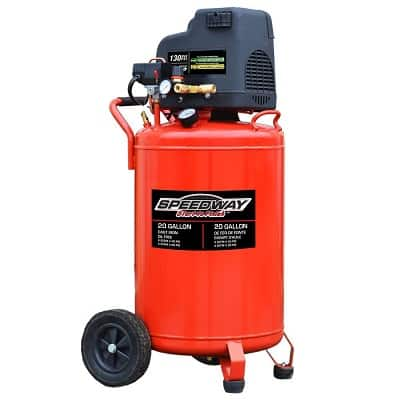 Speedway 20-Gallon Oil-Free Air Compressor