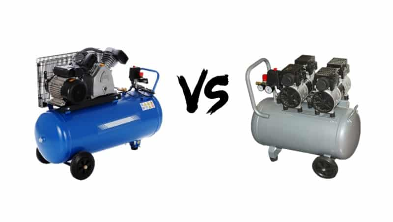 Air Compressor That Uses Oil vs Oil-free