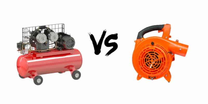 Are there any similarities between the Air Compressor and a Blower?