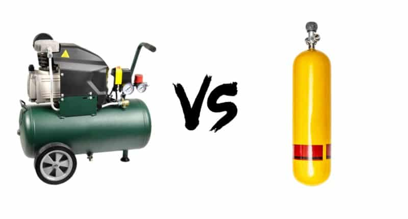 Air Compressor vs. Power Tank: Aren't they the same?