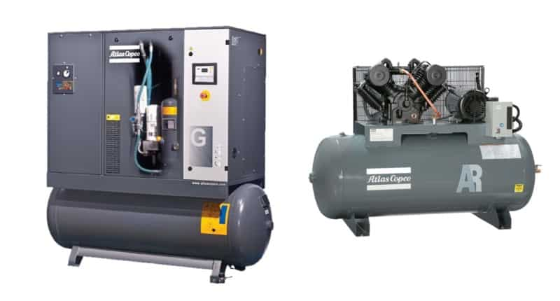 Atlas Copco Air Compressors: 3 Most Common Problems (& Possible Solutions)