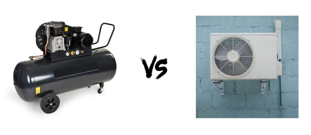 Air Compressor vs. Air Conditioner Compressor