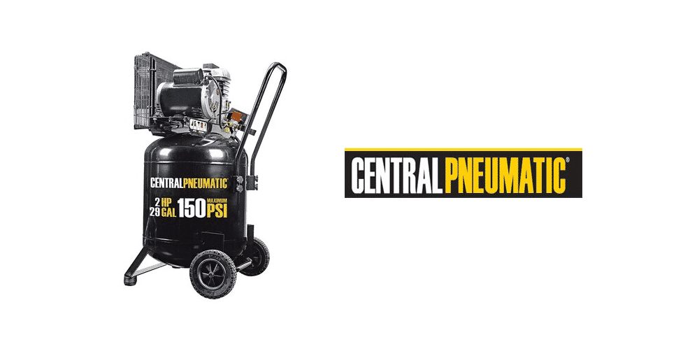 central pneumatic 29 gallon air compressor review