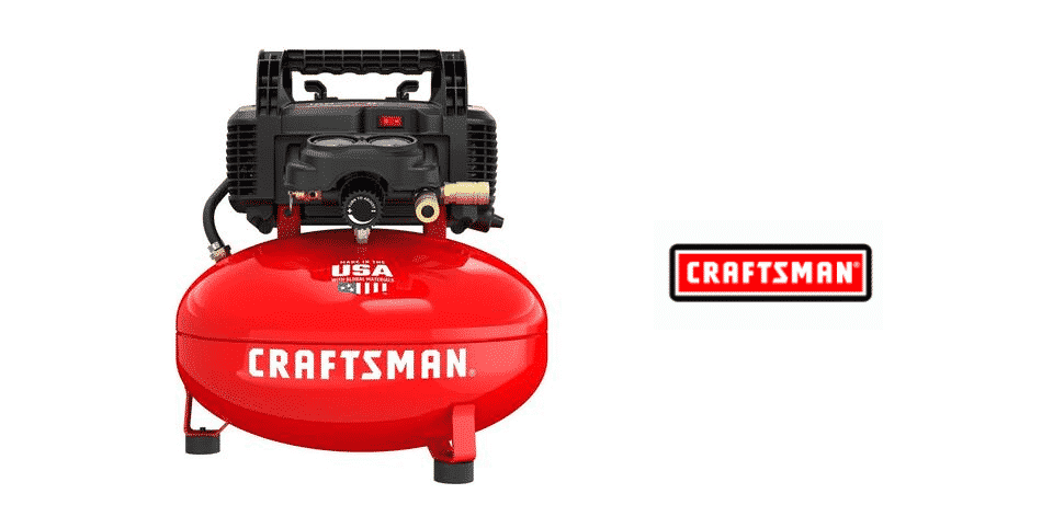 craftsman 6 gallon pancake air compressor review